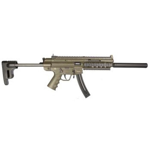 "GSG GSG-16 22 LR, 16"" Barrel, Green, 22rd"