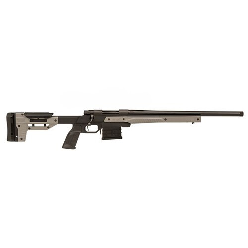 "Howa Oryx Chassis Rifle 308 Win, Oryx Chassis, AICS MAG 26 #6 Threaded 5/8""X24 1-10"", Gray, 10rd"