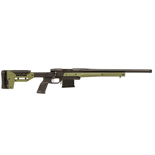 "Howa Oryx Chassis Rifle 6.5 Creedmoor, Oryx Chassis, AICS MAG 24 #6 Threaded 5/8""X24 1-8"", OD Green, 10rd"