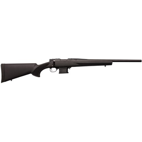 "Howa Mini Action Rifle 223 Rem, Heavy Barrel HTI Stock, MAG KIT 20"" #6 Threaded 1/2""X28 1-8"", Black"