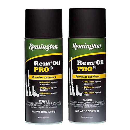 Remington RemOil Pro3 10oz and 10oz Remoil Pro3 2x10 oz. Aerosols