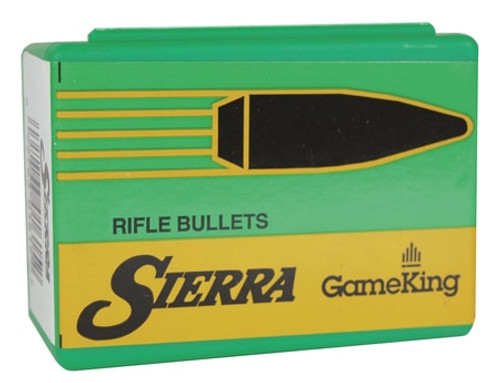 Sierra Reloading Bullets Game King .338 Diameter 225gr, Spitzer, 50rd Box