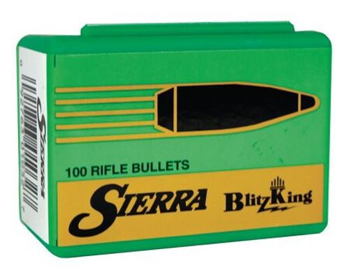 Sierra Reloading Bullets BlitzKing .224 Diameter 55gr, BlitzKing, 500/Box