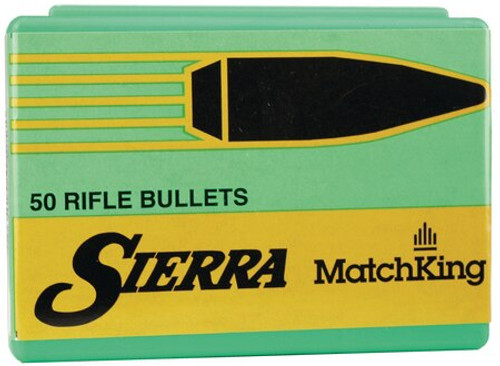 "Sierra Reloading Bullets Match Reloading Bullets .308 Diameter 240gr, Hollow Point Boattail Requires At Least 1x9"" Twist Barrel, 500rd Box"