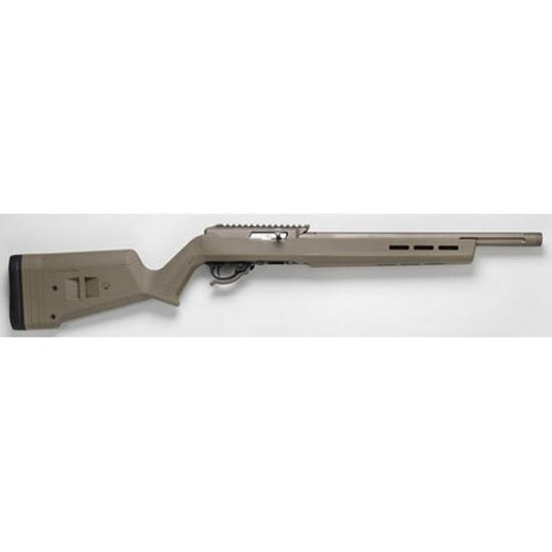 Tactical Solutions X-Ring VR 22 LR, Magpul Hunter X-22 Stock, Quicksand Barreld Action, Flat Dark Earth Stock
