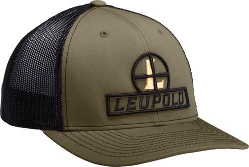 Leupold Reticle Trucker Hat Loden / Black OS