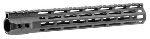 "Wilson Combat AR-15 M-Lok Handguard 6005A-T5 Aluminum Black Hard Coat Anodized 13.8"""