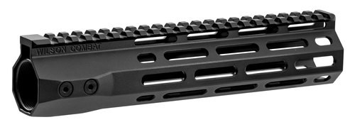 "Wilson Combat AR-15 M-Lok Handguard 6005A-T5 Aluminum Black Hard Coat Anodized 9.3"""
