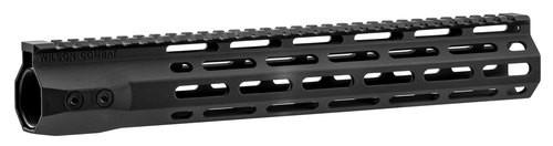 "Wilson Combat AR-15 M-Lok Handguard 6005A-T5 Aluminum Black Hard Coat Anodized 12.6"""