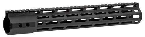 "Wilson Combat AR-10 M-Lok Handguard 6005A-T5 Aluminum Black Hard Coat Anodized 14.6"""