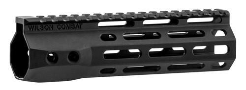 "Wilson Combat AR-15 M-Lok Handguard 6005A-T5 Aluminum Black Hard Coat Anodized 7.3"""