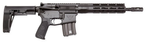 "Wilson Combat Protector Carbine 300 HAM'R, 16.25"", Black 6 Position Rogers Super-Stoc, Black Aluminum Receiver, 30rd"