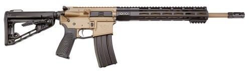 "Wilson Combat Protector Carbine 300 Blackout, 16.25"", Black 6 Position Rogers Super-Stoc, Tan Aluminum Receiver, 30rd"