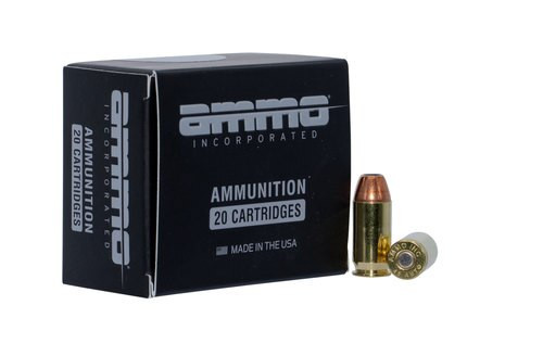 Ammo Inc Jesse James Black Label 45 ACP 230gr, Jacketed Hollow Point, 20rd Box