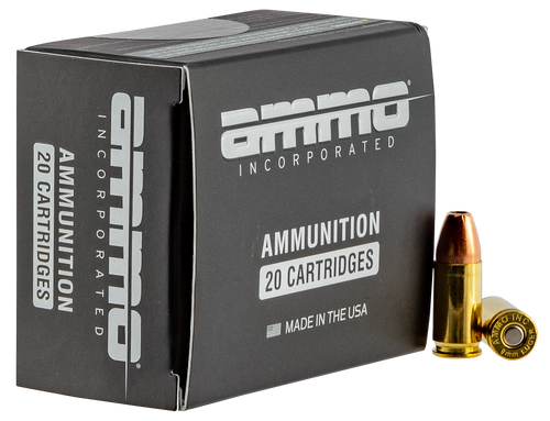 Ammo Inc .38 Special 125gr, Jacketed Hollow Point, 20rd Box