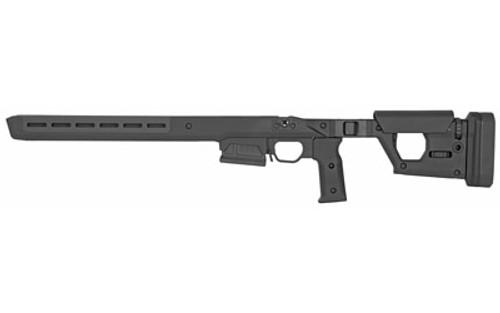 Magpul Pro 700 Short Action Stock Remington 700 Fixed Aluminum/Polymer Black