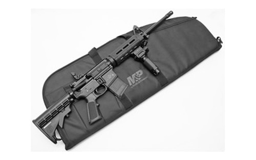 "Smith & Wesson M&P15 Sport II Rifle Bundle 223/5.56mm, 16"", Black, M-Lok, Lit Fwd Grip, Case, 10rd"