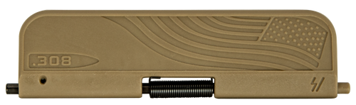 Strike SI AR Ultimate Dust Cover with Flag 308 Winchester Polymer Flat Dark Earth