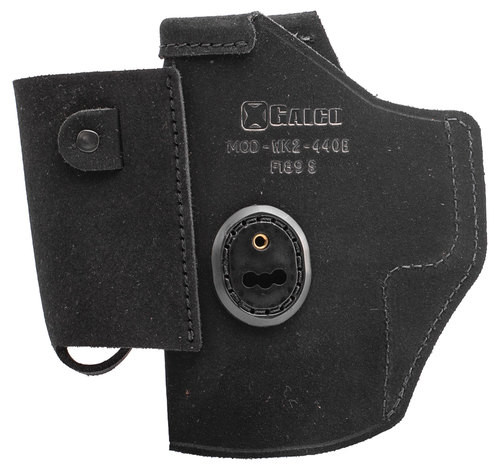 """Galco Walkabout 2.0 Strongside/Crossdraw Inside Waistband Holster, Fits Springfield XD 9/40 4"""", XD Mod2 9/40 4"""", XDM 3.8"""" 9/40, Ambidextrous, Black Leather"""