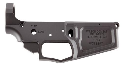 Wilson Combat AR Style Billet Lower AR-15 Rifle 223/5.56, Black, Armor-Tuff