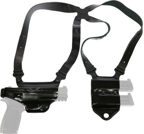 Galco Miami Classic II Shoulder System S&W M&P 9/40, Black