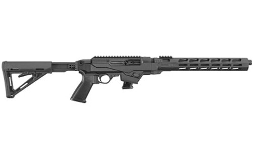"Ruger PC Carbine 9mm, 16"" Barrel, Threaded 1x28 Threads, Fluted, Black, M-Lok, 10rd"