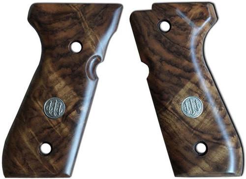 Beretta 92 Series Walnut Grips Grade 3 Deluxe 92 Series