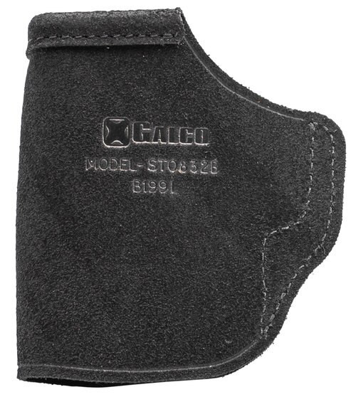 Galco STOW-N-GO Inside The Pant Holster, Fits S&W M&P SHIELD .45 2.0 Integrated Laser, M&P SHIELD 9/40 2.0 Integrated Laser, Right Hand, Black Leather