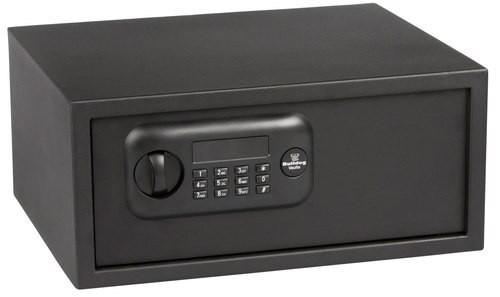Bulldog Standard Laptop Vault Electronic Keypad, Steel Black
