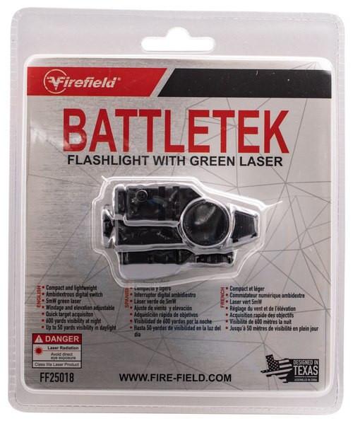 Firefield BattleTek Laser/Flashlight LED 150 Lumens CR-2 Battery Black Glass Filled Nylon Polymer