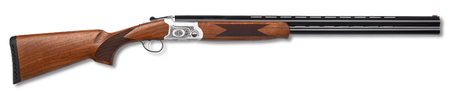 "Pointer Arista 20 Ga, 28"" Barrel, 3"", Nickel, Turkish Walnut"