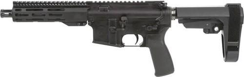 "Radical Firearms RF Forged AR Pistol 223 Rem/5.56mm, 7.5"" Barrel, 1:7 Twist, Aluminum Frame, Black, SB Tactical SBA3 Pistol Stabilizing Brace, 30Rd, 1 Magazine, 7"" FCR M-LOK Handguard, B5 type 23 P-Grip, Ambidextrous Safety, A2 Fl"