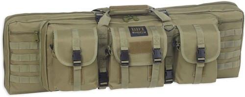 "Bulldog Cases Tactical Double Rifle Case, Green, 43"""