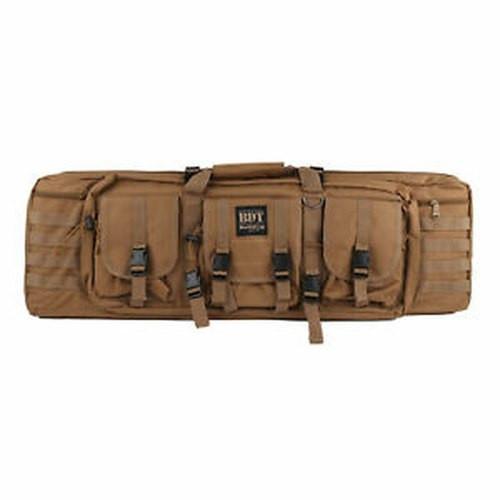 "Bulldog Tactical Double Rifle Case, 37"", Tan"