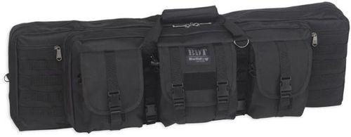 "Bulldog Tactical Single Rifle Case, 37"", Black"