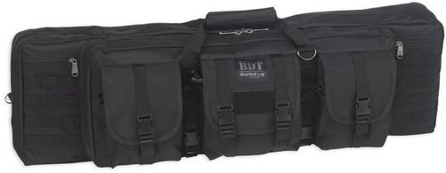 "Bulldog Tactical Single Rifle Case, 43"", Black"