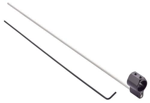 "Wilson Combat Gas Block Lo-Profile Adjustable .750"" Rifle Length 4140 Chromoly Steel, Black Melonite"