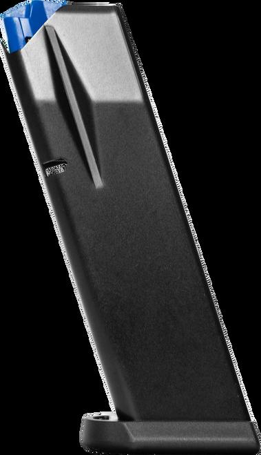 Mecgar Magazine, 15rd, Blue Finish, Anti Friction Coating, Fits CZ 75 Compact & P-01