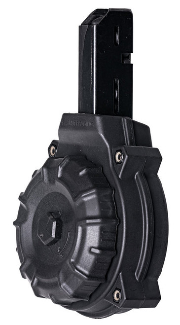 ProMag AR-15 Drum Magazine 9mm, Black, SMG Type, 50rd