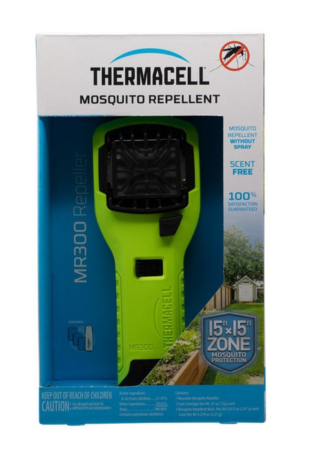 Thermacell MR300 Mosquito Repeller Unscented Yellow