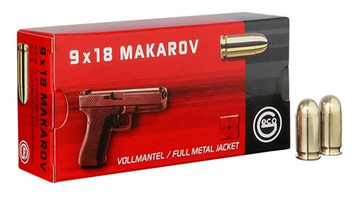 Geco MAK 9x18 Makarov 95gr, Full Metal Jacket, 50rd Box