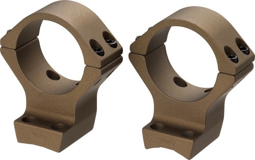 """Browning Base Sys X-Lock X-Bolt 1"""" Low, Burnt Bronze"""