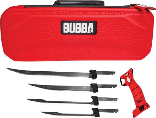 Bubba Blade Li-Ion Electric Fillet Knife 4 Blade