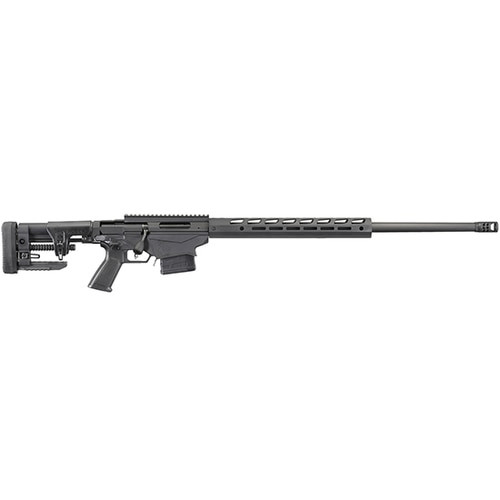 """Ruger Precision Rifle, Bolt-Action, 6MM Creedmoor, 26"""" Cold Hammer Forged Heavy-Contour Barrel, Black Anodized Finish, Ruger Precision MSR Stock and 15"""" Freefloat M-LOK Handguard, 10Rd"""