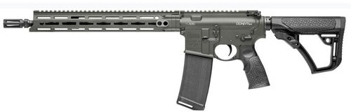 "Daniel Defense DDM4 V7 SLW *CA Compliant* 223/5.56mm, 14.5"" Barrel, Deep Woods Green Creakote, 6-Position Stock, 10rd"