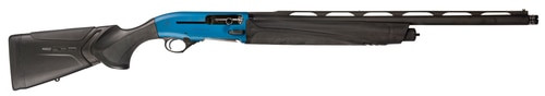 """Beretta 1301 Competition Pro, Semi-Automatic, 12 Gauge, 24"""" Barrel With Step Rib, Blue Color, Synthetic Stock, 3 Rounds, Kick-Off Plus System, OptimaChoke HP Black Edition"""