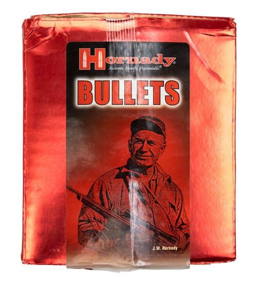"Hornady FMJ 9mm Bullets, Damaged Box, .355"", 115gr, 500 Per Box"