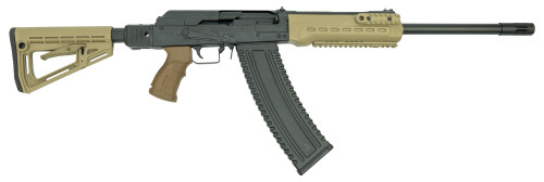 "Kalashnikov KS12 Side Folding Tactical Package Shotgun 12g, 18"" Barrel W/Brake, Flat Dark Earth, Includes Extras, Case"