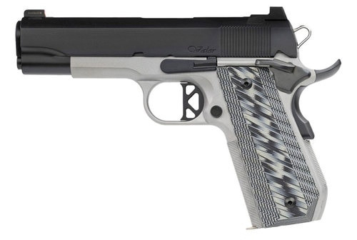 "Dan Wesson V-Bob .45 ACP, 4.25"" Barrel, Tritium Front, Serrated Rear, 2-Tone, 8rd"