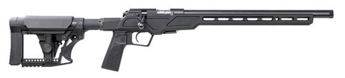 "CZ 457 Varmint Precision Chassis, Bolt Action, 22 LR, 16.5"" Threaded 1/2x28 Barrel, Black, Adjustable Stock, 5rd mag"